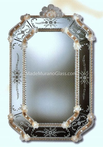 Gold Murano Wall Mirrors – Ca' Pesaro