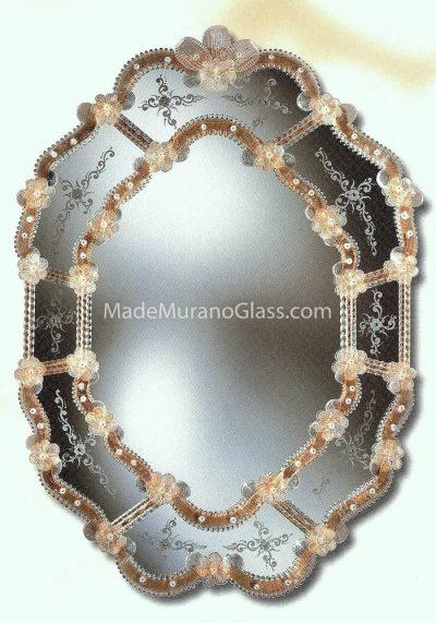 Murano Wall Mirror – Ponte – Venetian Art