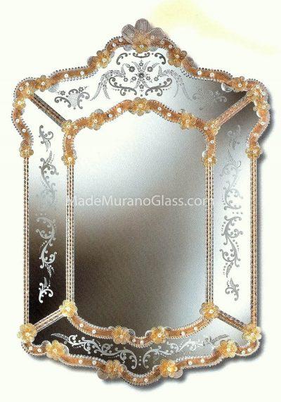 Venetian Glass Mirror – Crea – Murano Glass