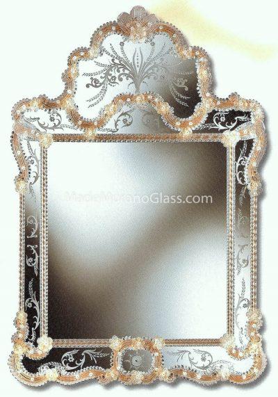 Venetian Glass Mirror – Marcuola – Murano Art Glass