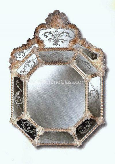 Venetian Glass Mirror – Celestia – Murano Collection