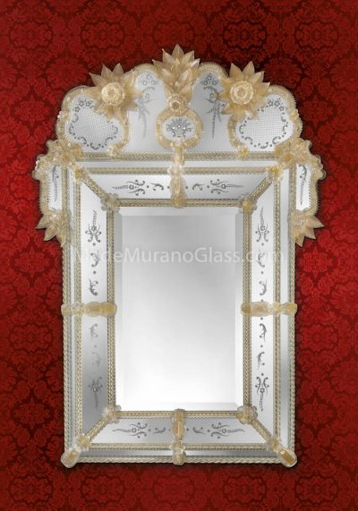 Venetian Glass Mirror – Torcello – Murano Art
