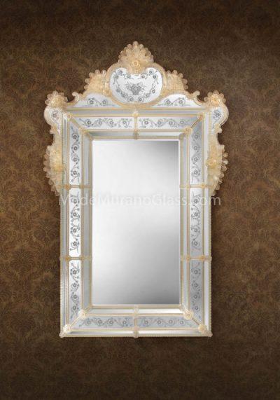 Murano Wall Mirror – Elvis – Murano Art Glass