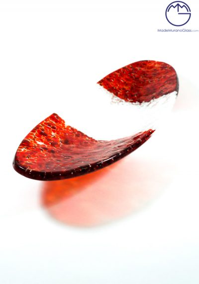 Oval Plate With Mace In Murano Glass – Murano Collection