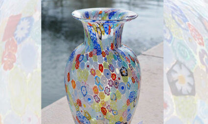 Murrina technique: this is why millefiori vases are so rare and precious