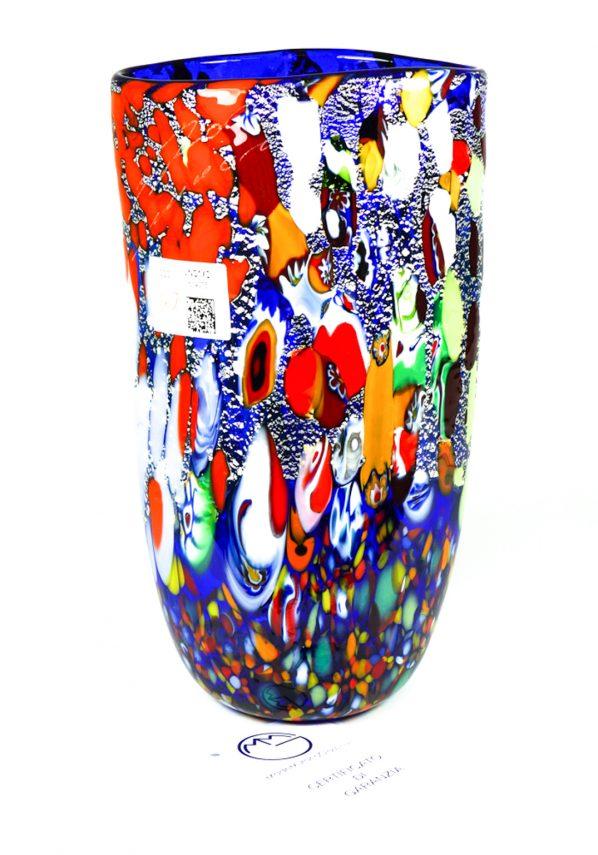Lulu - Vaso In Vetro Murano Fantasia Blu