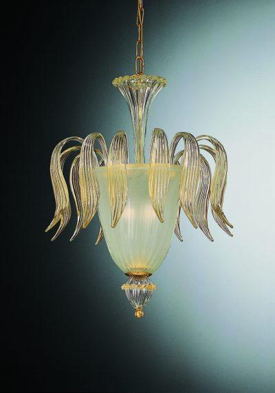 Exclusive Ceiling Lamp 3 Lights In Murano Glass – Murano Art