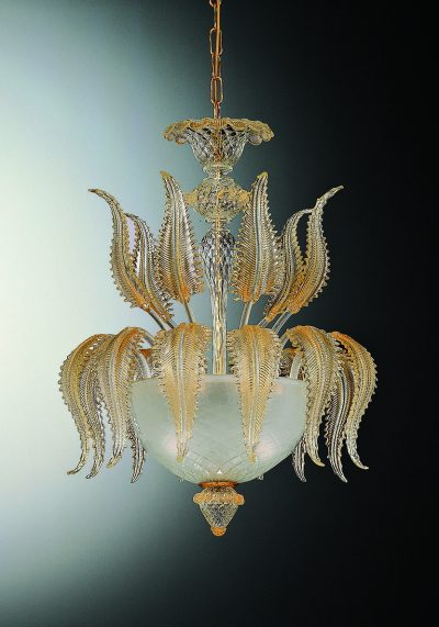 Oscar – Exclusive Ceiling Lamp 3 Lights In Murano Glass
