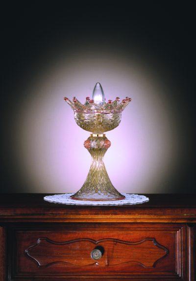 South Carolina – Venetian Glass Lamps In Gold 24 Carats – Murano Glass