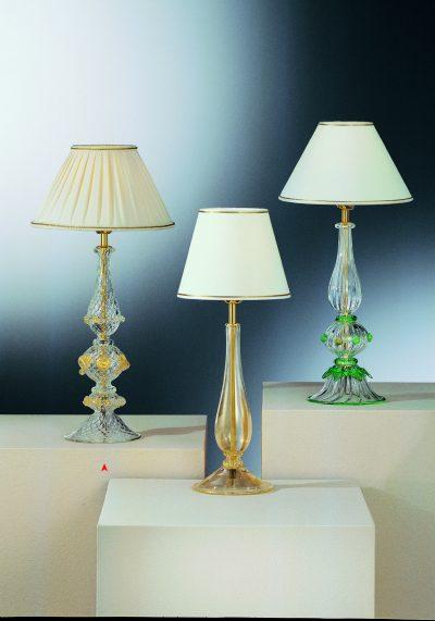 The Gomezes – Murano Glass Table Lamp – Venetian Glass Lamps