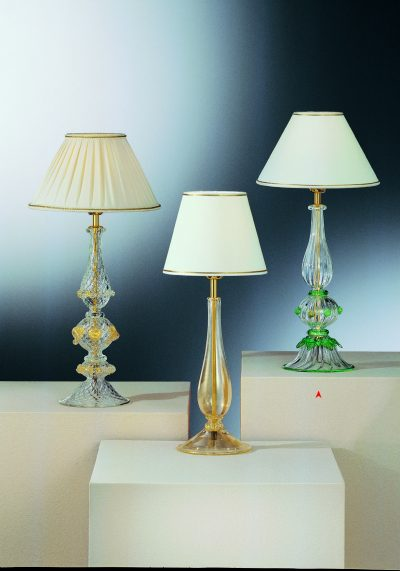 The Riches – Murano Glass Table Lamp – Venetian Glass Lamps