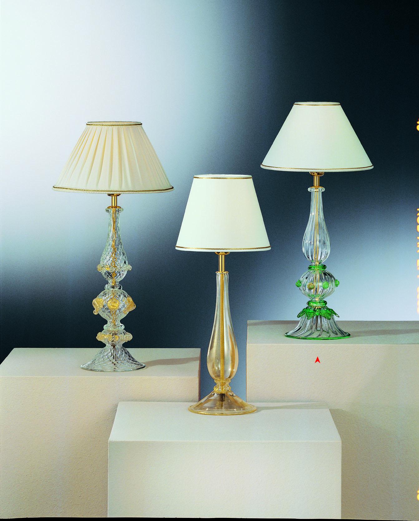 Alava Lampada Da Tavolo In Vetro Murano Made Murano Glass