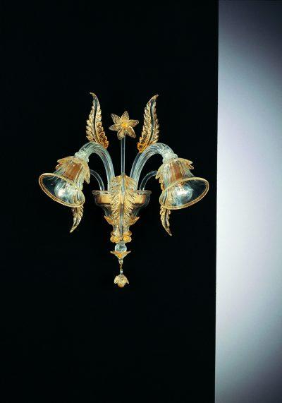 Wall Lamp Murano Glass 2 Lights – Venetian Glass Lamps