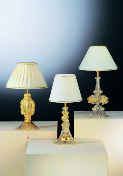 The Clarks – Murano Glass Table Lamp – Venetian Glass Lamps