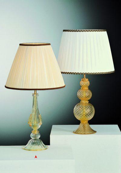 Georgia – Venetian Glass Lamps With Gold 24 Carats