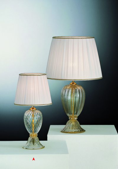 Connecticut – Venetian Glass Lamps With Gold 24 Carats