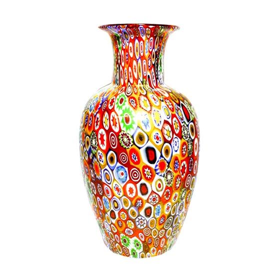 vase with murrina