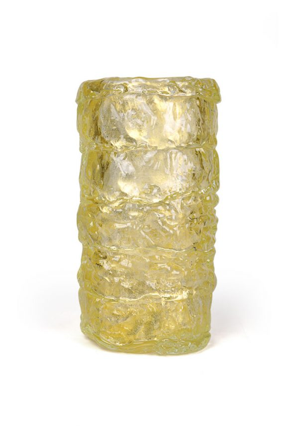 The Desire - Murano Glass Blown Vase Gold