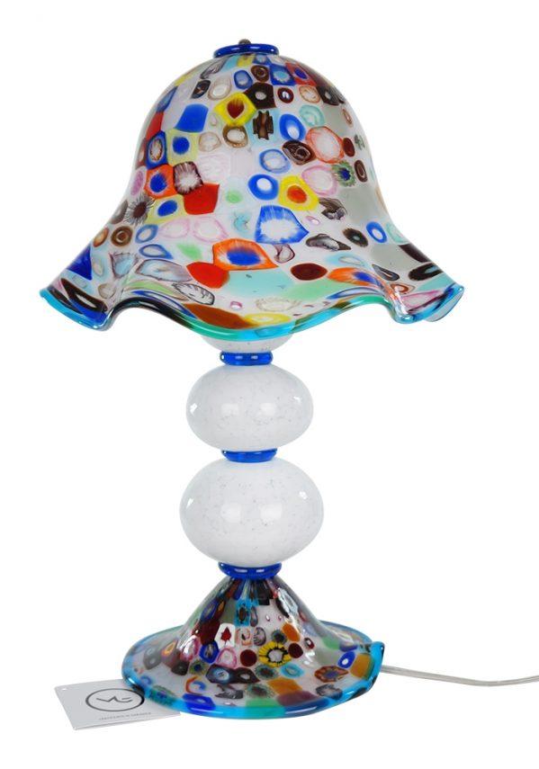 Susy - Lampada Da Tavolo In Vetro Di Murano - Murrina Millefiori Murano Table Lamp