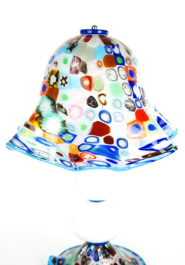 Fredy - Murano Glass Table Lamp Murrina Millefiori