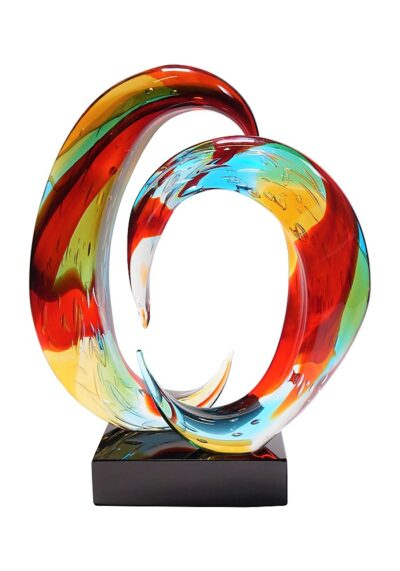 Rainbow – Murano Sculpture Submerged Colored