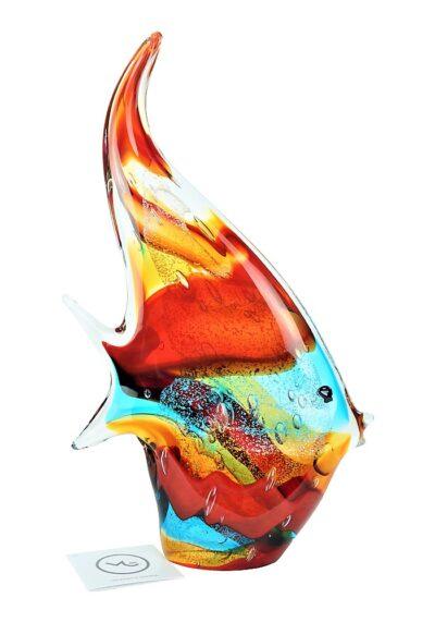 Dory – Multicolored Murano Glass Fish Sculpture