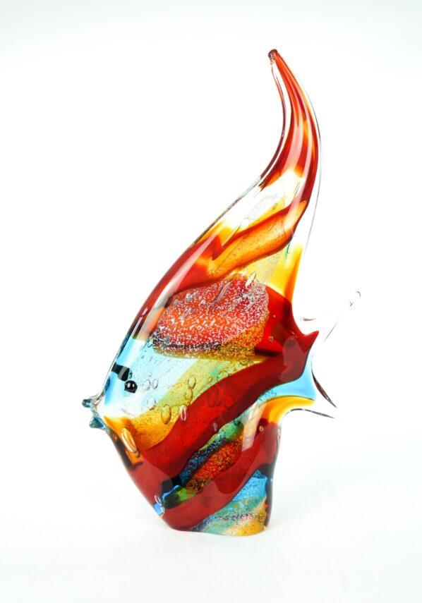 Dory - Multicolored Murano Fish Sculpture
