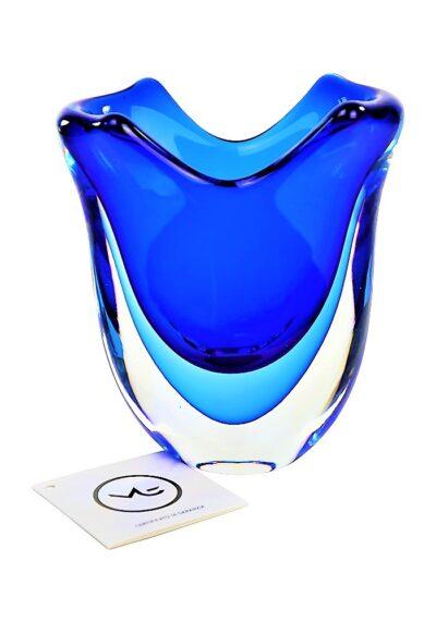 Fan – Vaso Vetro Murano Sommerso Blu